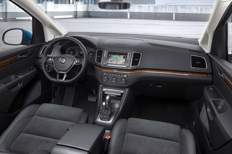 Innenansicht VW Sharan