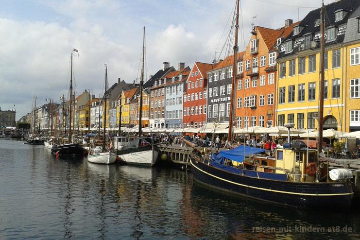 Kopenhagen - neuer Hafen