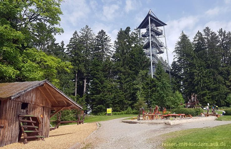 skywalk - Baumwipfelpfad: Der Turm