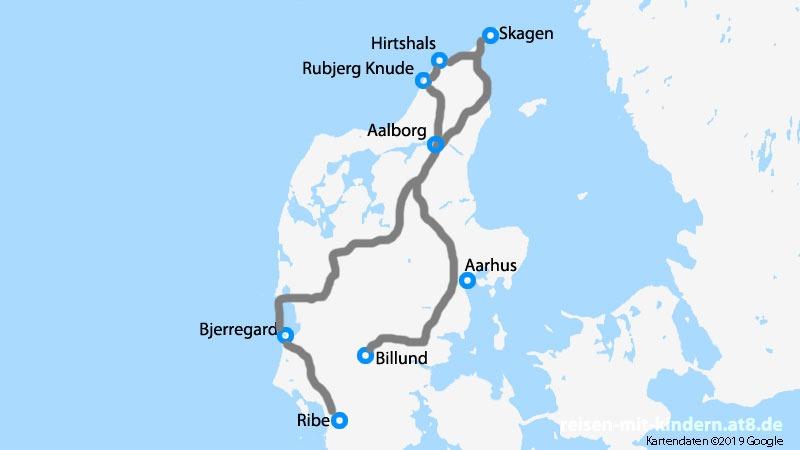 Rundreise durch Dänemark mit der Familie: Meer, Strand, Fähren, Legoland und ganz viel Natur