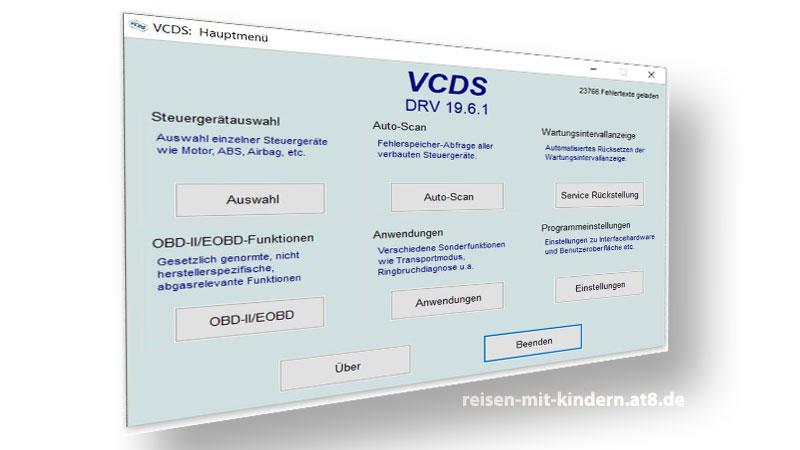 VCDS Programmieren bei Seat Alhambra und VW Sharan
