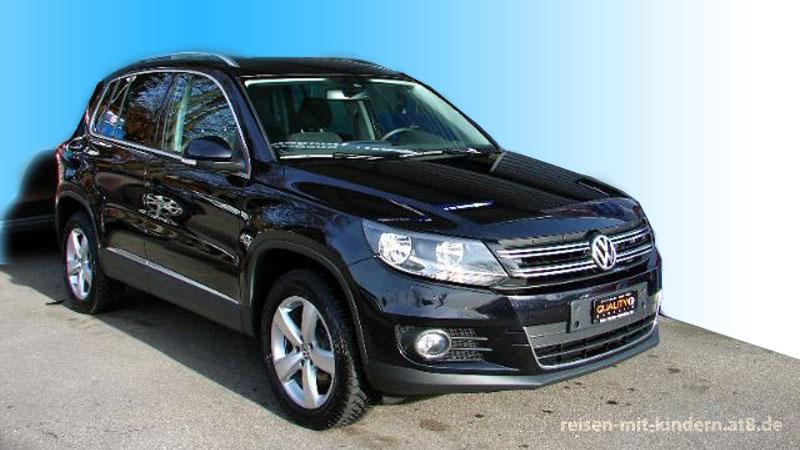 Unser VW Tiguan war zu klein. Daher machten wir uns auf die Suche nach einem Auto für Familien mit 3 Kindern.