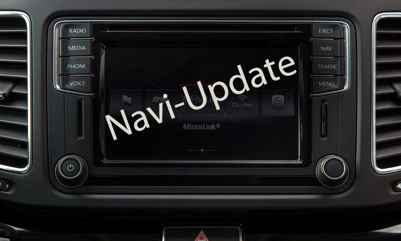 Sharan Alhambra Navi Update