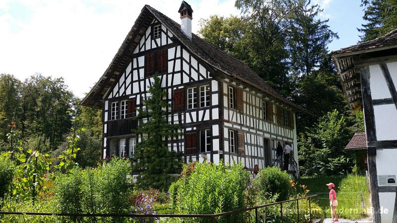 Ausflugsziele für Familien mit Kleinkindern rund um Zürich – Freilichtmuseum Ballenberg